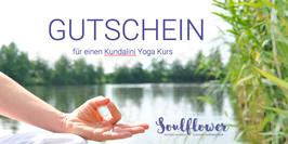 Gutschein für eine Yogastunde