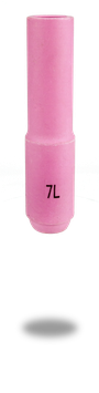 Keramische Gasdüse standard lang L= 76 mm TBi SR 17/18/26 | 10er Pack