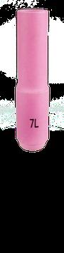 Keramische Gasdüse standard lang L= 76 mm TBi SR 17/18/26