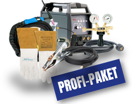 Teamwelder TIG 180 AC/DC puls Profi-Paket