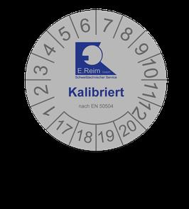 Validiereung und Kalibrierung  nach EN 50504