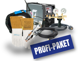 Teamwelder TIG 180 DC puls PROFI-PAKET