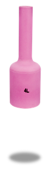 Keramische Gasdüse standard L= 76 mm TBi SR 400 | 5er Pack