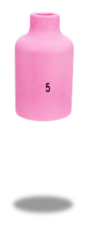 Keramische Gasdüse standard L= 42 mm TBi SR 400 | 10er Pack