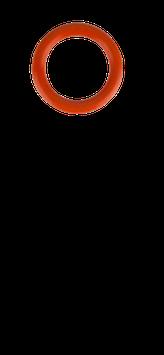 O-Ring für Brennerkappen