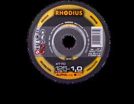Rhodius XT 70 | 125 x 1,0 x 22,23 + ALPHA Box