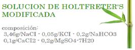 SUERO: solucion de Holtfreter's modificada 5 unidades