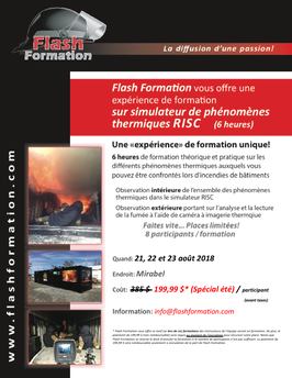 Formation simulateur phénomènes thermiques RISC (2018-08-23)