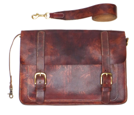 Kleine Business bag |  rotbraun 39 x 26 x 8 cm | Art. 9798