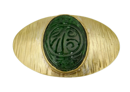 "GÜRTELSCHNALLE ""Jade"" ( 8205)"