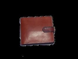 Brieftasche mit Druckknopfverschluß (Art.Nr. 7406)