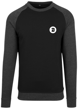 SWEAT BICOLOR D BLACK