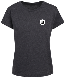 T-SHIRT L BOX D DARK GREY