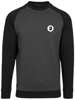SWEAT BICOLOR D DARK GREY
