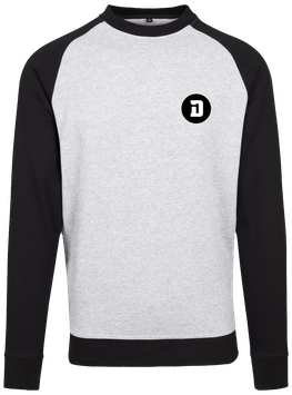 SWEAT BICOLOR D GREY