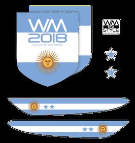 """WM-LIFESTYLE """"ARGENTINIEN"""" AUTOFOLIEN"""