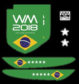 "WM-LIFESTYLE ""BRASILIEN"" AUTOFOLIEN"