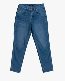 LOVJOI Denim - Mom Jeans CARPINE - Blue Denim