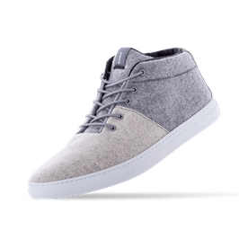 Baabuk Sneakers - Sky Wooler - Middle Grey