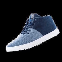 Baabuk Sneakers - Sky Wooler - Jeans