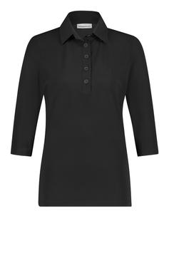 PENN&INK N.Y. - Basic Bluse Lux - Black