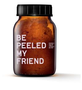 BE [PEELED] MY FRIEND - Steinsalz-Körper-Peeling [Zirbe-Zitronenmelisse]