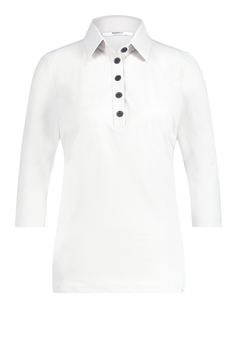 PENN&INK N.Y. - Basic Bluse Lux - White