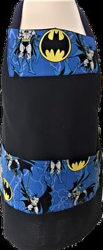 Tablier de cuisine noir Batman