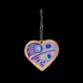 """Houten hanger """"Hummingbird Heart"""""""