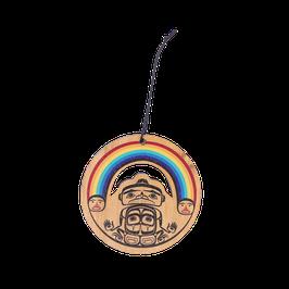 """Houten hanger """"Rainbow"""""""