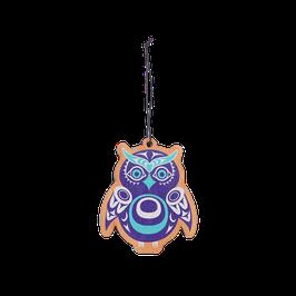 "Houten hanger ""Owl"""