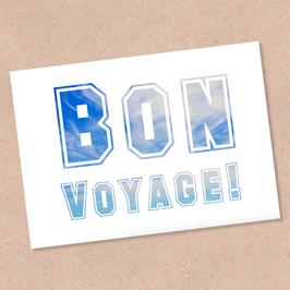 Postarte -Bon Voyage-
