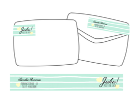 WrapAround Etiketten -Stripes-