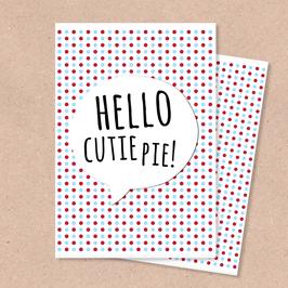 Klappkarte -Cutie Pie-