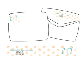 WrapAround Etiketten -Watercolor Dots-