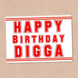 Postkarte -DIGGA-