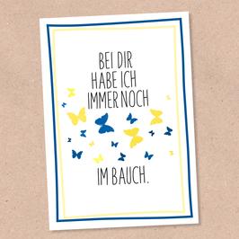 Postkarte -Schmetterlinge-