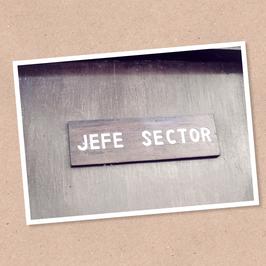 Postkarte -Jefe-