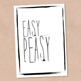 Postkarte -EasyPeasy-
