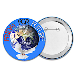 "Schüler-Button ""FRIDAY FOR FUTURE"""