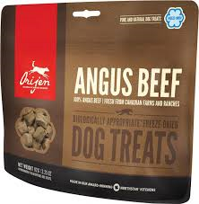 Orijen Dog Treats Angus Beef/ Boeuf