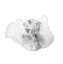Flacone di coriandoli di sapone, profumo al gelsomino