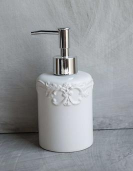 Dosatore sapone liquido decoro romantico