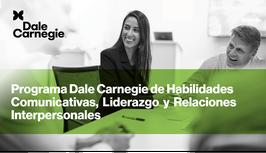 Dale Carnegie Course de Habilidades Comunicativas, Liderazgo y Relaciones Personales
