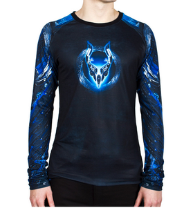 MENS RUGLAN L/S TOP