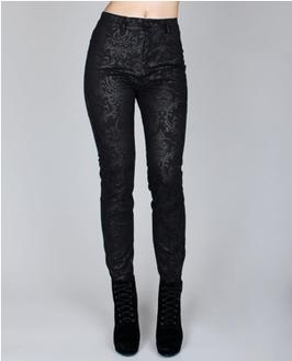 Cyber Skinny Pants