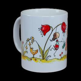 Tasse Blumenwiese