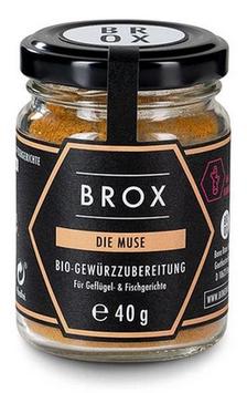 """BROX """"die Muse"""" Bio-Gewürzmischung"""