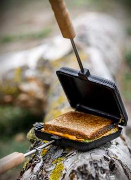 Waffel-, Sandwich- und Burgereisen
