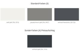 Farbtafeln auf Original-Material